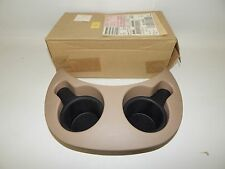New OEM 1998-2002 Ford Expedition Cupholder Assembly Cup Holder Beige Tan