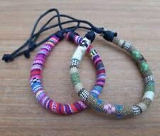 Bracelets Ethnic Tribal Bracelets Adjustable Wristbands for Men Women Hmong Boho