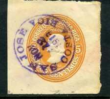 COLON,stamped envelope COSTA RICA canc.SAN JOSE NOV.12 1913