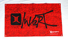 Invert Logo Paintball Dealer Banner 2' x 4' Red Black New free shipping