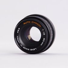 Auto Chinon 50mm 1:1.9 Prime Lens for Pentax K Mount, Made in Japan, Exc Cond.