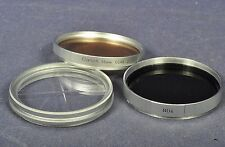 Canon 55mm CCA8 2x Conversion Filter & ND4 Filter Vintage Chrom 70er & Zugabe