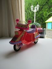 🎀 Ancien Scooter Barbie Mattel 1989 Vintage