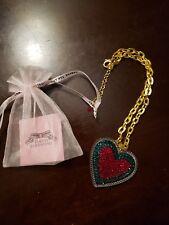 Tarina Tarantino Holiday Heart Necklace