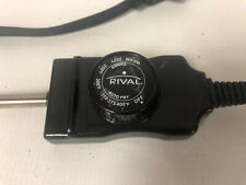 Rival Electric Skillet Fry Pan Temperature Control Power Cord Model OTC-2
