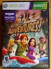 Kinect Adventures (Microsoft Xbox 360, 2010) video game for kids fun for family