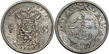 NETHERLANDS EAST INDIES 1/4 GULDEN 1854 KM#305.1