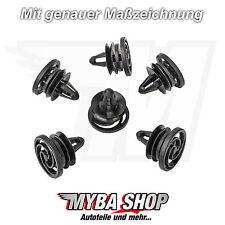 20x porta clip di fissaggio Seat Skoda VW klips supporto ° NUOVO ° 6k0868243c