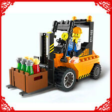 ENLIGHTEN 115Pcs City Series Forklift Truck Building Block 1103 Toys For Kids