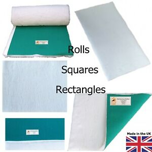 PnH Veterinary Bedding ® - WHITE - Green Back Vet Bedding - MANY SIZES AVAILABLE