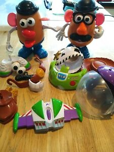 Mr Potato Head with Woody and Buzz Lightyear Accessories Disney Toy Story