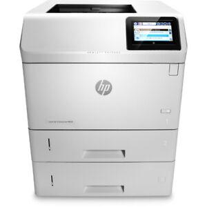 HP LaserJet Ent M605x M605 A4 Mono Printer WIRELESS 100% Toner WARRANTY