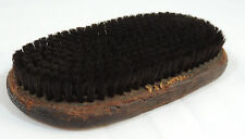 Antique Wood & Leather CAMEL Brush Shoe Shine