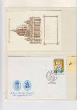 Vatican  Jean Paul II  FDC&/or max card  div lot  487