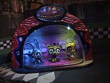 FNAF LIGHT UP STAGE - LPS Custom -FUNKO - five nights at freddy's  CAKE TOPPER
