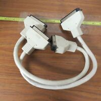 + Lot of 2 DEC DIGITAL EQUIPMENT CORPORATION BC19J-1E 52351-000 1 FOOT CABLE