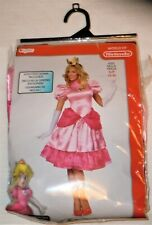 Nintendo Super Mario Brothers Princess Peach Halloween Adult Costume Sz. S (4/6)