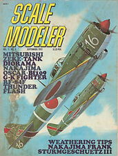 Scale Modeler Sept 1972 - Weathering - Sturmgeschuetz - Nakajima - Mitsubishi