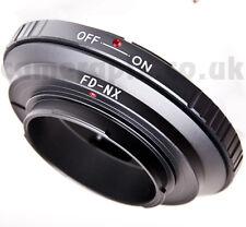 Canon FD FL lens to Samsung NX Android Galaxy NX1100 NX2000 NX310 NX5