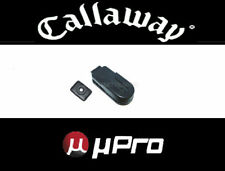 NEW CALLAWAY GOLF uPRO - UPRO GO GPS - 3M UPGRADE KIT BELT CLIP / BUTTON MOUNT