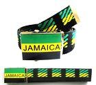 CEINTURE JAMAIQUE Homme Femme Garçon Fille Bob Marley reggae drapeau flag cd dvd