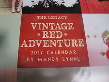2017 calendar, The Legacy Vintage Red Adventure