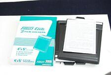 FIDELITY ELITE 4X5 CUT FILM HOLDER (2 holders) New W/Warranty Sheet