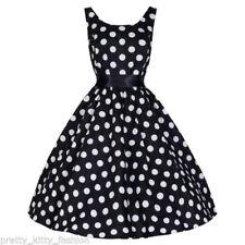 Rockabilly Cotton Blend Regular Size Dresses for Women
