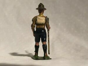 Vintage Lead Britains Boy Scout Figure