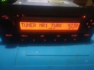 735446970 SISTEMA AUDIO RADIO CD FIAT GRANDE PUNTO (199)  DESHABILITADO  CODIGO