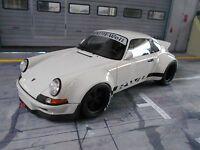 PORSCHE 911 930 Carrera Widebody RWB Rauh Welt weiss white lim. GT Spirit 1:18