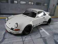 PORSCHE 911 930 Carrera Widebody RWB Rauh Welt weiss white lim. GT Spirit 1:18