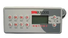 Gecko, Spa Builders - Topside Panel TSC 8, K 8, 10 Button, 3 Pump - BDLTSC810K