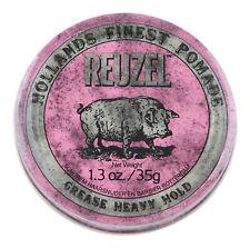 Reuzel Pink Pomade Heavy Grease 1.3 oz. Hair Wax & Pomade