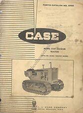 Original Case Parts Catalog No. A905 Model 310F Crawler Tractor 1964