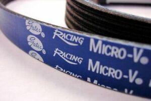 Gates Racing Micro V Belt Nissan 300ZX V6 1986 - 1989 VG30 TURBO
