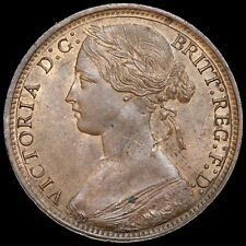 More details for victoria, 1837-1901. penny, 1865.
