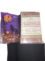 Halloween Cassette:  HOWL-O-WEEN SOUNDS (Hallmark Christmas Cassette Lot 2 Tapes
