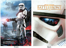 RARE STAR WARS BATTLEFRONT COLLECTORS PROMO POSTER DISPLAY STORMTROOPER PS4 XBOX