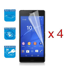 4 x Screen Guard Shield Film Foil Protector For Sony Xperia Z3 Compact Mini
