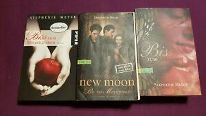 Die Twilight-Saga (Biss-Romane) von Stephenie Meyer 3 Romane