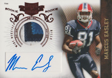 Marcus Easley 2010 Panini Plates & Patches autograph auto card 223 /699