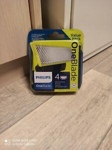 Philips Pack XL - Lot de 4 lames QP240/50 - One Blade - NEUVES