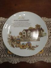 Avons 10th Anniversary Collectors Plate In Excellent Shape