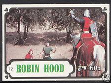 Monty Gum Card - 1986 TV Hits - Robin Hood - Card No 72