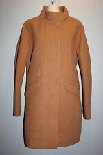 NWT JCrew $350 Cocoon Coat Italian Stadium-Cloth Wool 6  HTHR ACCORN G8447