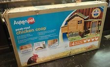 Aspen Pet Peak Roof Complete Chicken Coop Local Pickup Only