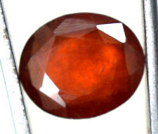 AGSL Certified 4.10 Ct Natural Orange Ceylon Hessonite Garnet Untreated GemStone