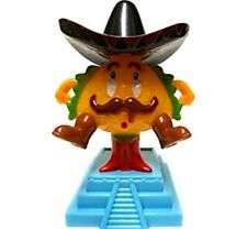 Solar Powered Dancing Fun Mexican Taco Man In Black Red Blue You Pick Your Taco