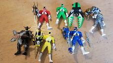 Power Rangers Collection Figures avec armes années 1990/Lightspeed OBJETS RARES Set
